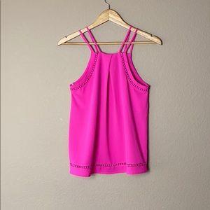 Sweet Wanderer hot pink cami top